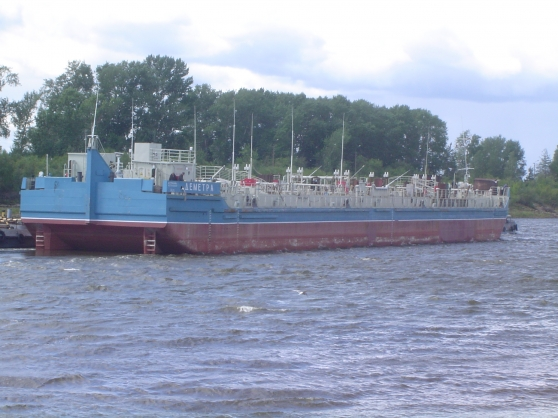 Fuel oil barge Dementra Project Demetra